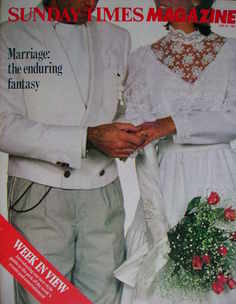 <!--1983-06-26-->The Sunday Times magazine - Marriage cover (26 June 1983)