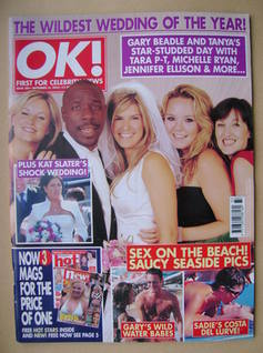 <!--2003-09-16-->OK! magazine - 16 September 2003 (Issue 384)