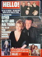 <!--1999-11-16-->Hello! magazine - Esther McVey and Mal Young cover (16 Nov