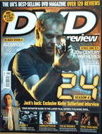 DVD Review magazine - Kiefer Sutherland cover (2005 - Issue 80)