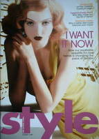 <!--2006-10-15-->Style magazine - Lily Cole cover (15 October 2006)