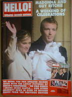<!--2001-01-02-->Hello! magazine - Madonna and Guy Ritchie and baby Rocco c
