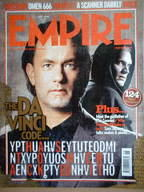 <!--2006-06-->Empire magazine - The Da Vinci Code cover (June 2006 - Issue