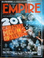 <!--2006-03-->Empire magazine - 201 Greatest Movies Of All Time cover (Marc