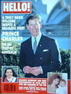 <!--1994-02-05-->Hello! magazine - Prince Charles cover (5 February 1994 -