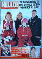 <!--1997-03-08-->Hello! magazine - Prince Andrew and Sarah Ferguson cover (