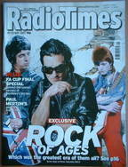 <!--2007-05-19-->Radio Times magazine - Rock Of Ages cover Noel Gallagher,