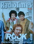<!--2007-05-19-->Radio Times magazine - Rock Of Ages cover Jimi Hendrix, Da