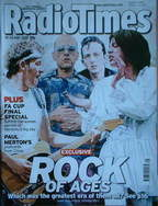 <!--2007-05-19-->Radio Times magazine - Rock Of Ages cover Bruce Springstee