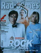 <!--2007-05-19-->Radio Times magazine - Rock Of Ages cover Bryan Ferry, Fre