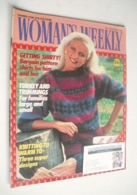 <!--1982-12-18-->Woman's Weekly magazine (18 December 1982 - British Editio
