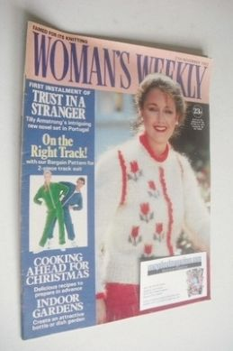 <!--1982-11-27-->Woman's Weekly magazine (27 November 1982 - British Editio