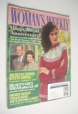<!--1982-11-20-->Woman's Weekly magazine (20 November 1982 - British Editio