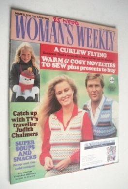 <!--1982-11-13-->Woman's Weekly magazine (13 November 1982 - British Editio