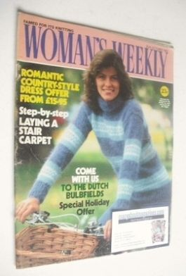 <!--1982-10-30-->Woman's Weekly magazine (30 October 1982 - British Edition