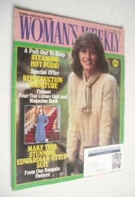 <!--1982-10-23-->Woman's Weekly magazine (23 October 1982 - British Edition