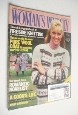 <!--1982-10-16-->Woman's Weekly magazine (16 October 1982 - British Edition