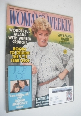 <!--1983-11-19-->Woman's Weekly magazine (19 November 1983 - British Editio