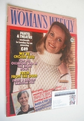 <!--1983-11-26-->Woman's Weekly magazine (26 November 1983 - British Editio