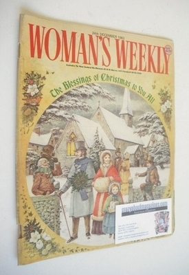 <!--1983-12-24-->Woman's Weekly magazine (24 December 1983 - Christmas Issu
