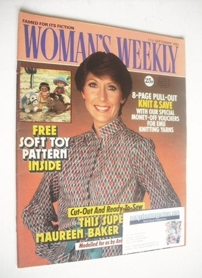 <!--1983-09-17-->Woman's Weekly magazine (17 September 1983 - Anita Harris