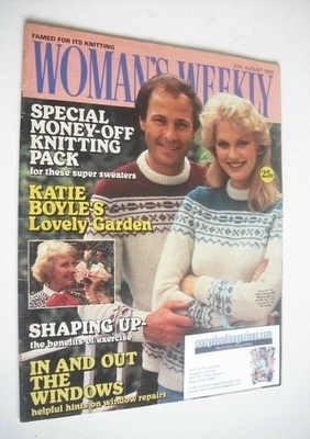 <!--1983-08-20-->Woman's Weekly magazine (20 August 1983 - British Edition)