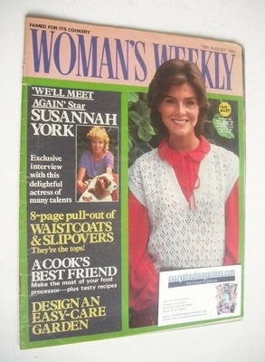 <!--1983-08-13-->Woman's Weekly magazine (13 August 1983 - British Edition)