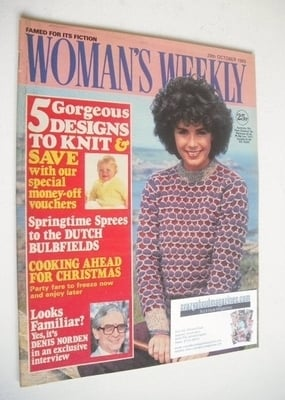 <!--1983-10-29-->Woman's Weekly magazine (29 October 1983 - British Edition