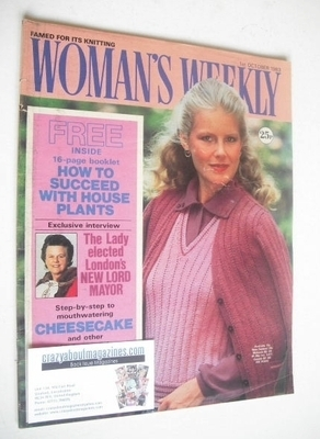 <!--1983-10-01-->Woman's Weekly magazine (1 October 1983 - British Edition)