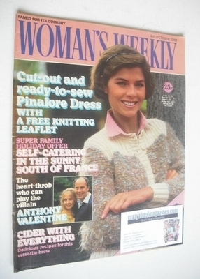 <!--1983-10-08-->Woman's Weekly magazine (8 October 1983 - British Edition)
