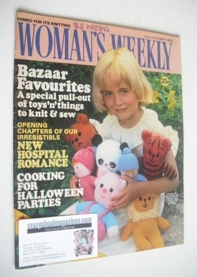 <!--1983-10-22-->Woman's Weekly magazine (22 October 1983 - British Edition