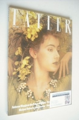 <!--1985-12-->Tatler magazine - December 1985/Kanuary 1986 - Mia Sara cover