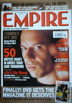 <!--2002-11-->Empire magazine - Vin Diesel cover (November 2002 - Issue 161