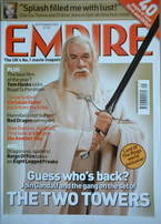 <!--2002-09-->Empire magazine - Gandalf cover (September 2002 - Issue 159)