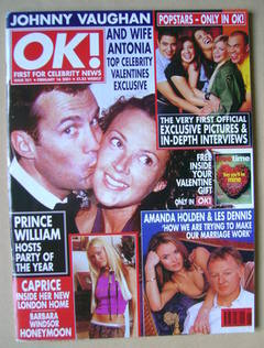 <!--2001-02-16-->OK! magazine (16 February 2001 - Issue 251)