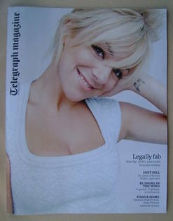 <!--2013-08-31-->Telegraph magazine - Sheridan Smith cover (31 August 2013)