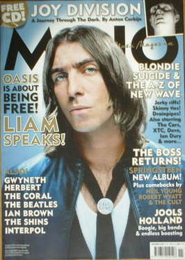<!--2007-11-->MOJO magazine - Liam Gallagher cover (November 2007 - Issue 1