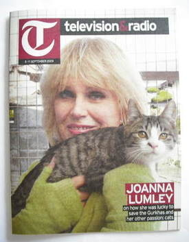 Television&Radio magazine - Joanna Lumley cover (5 September 2009)