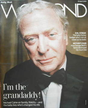 Weekend magazine - Michael Caine cover (25 April 2009)