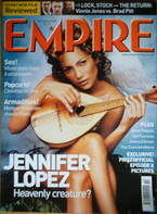 <!--2000-10-->Empire magazine - Jennifer Lopez cover (October 2000 - Issue