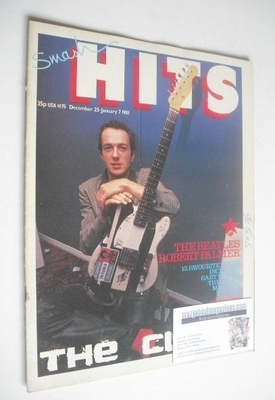<!--1980-12-25-->Smash Hits magazine - Paul Simonon cover (25 December 1980