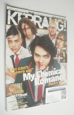 <!--2005-02-26-->Kerrang magazine - My Chemical Romance cover (26 February
