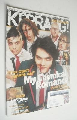 <!--2005-02-26-->Kerrang magazine - My Chemical Romance cover (26 February