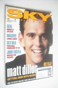 Sky magazine - Matt Dillon cover (June 1991)