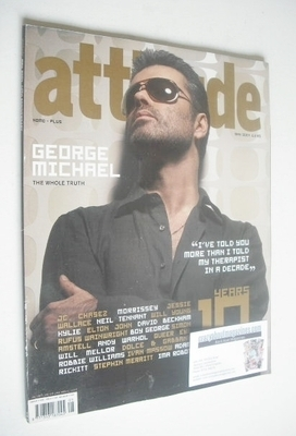 <!--2004-05-->Attitude magazine - George Michael cover (May 2004)