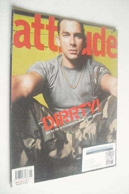 <!--2003-01-->Attitude magazine - Cristian Solimeno cover (January 2003 - I