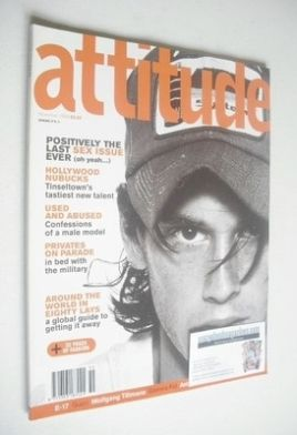 <!--1998-11-->Attitude magazine - Chad Christ cover (November 1998 - Issue