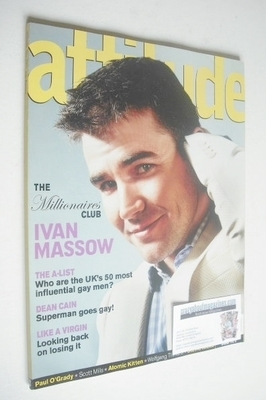 <!--2001-05-->Attitude magazine - Ivan Massow cover (May 2001 - Issue 85)