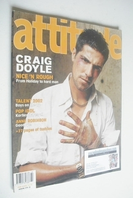 <!--2002-02-->Attitude magazine - Craig Doyle cover (February 2002 - Issue