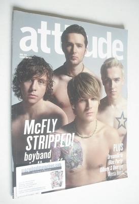 <!--2007-02-->Attitude magazine - McFly cover (February 2007)